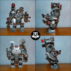 War Machine Buster Lego Marvel