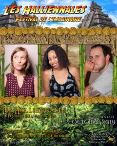 Affiche Halliennales 2019 festival de l'imaginaire Hallennes-lez-Haubourdin