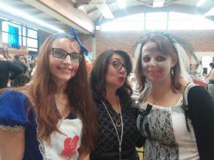 Interview Les Halliennales Aurélie blogueuse Les victimes de Louve Sophie Jomain Alice zombie