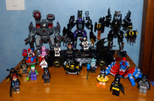 Lego Marvel DC Batman Catwoman Joker Harley Quinn Spiderman Batmobile