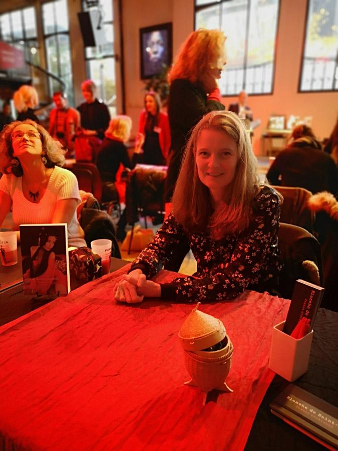 Salon de la littérature érotique 2019 Blanche de Saint-Cyr