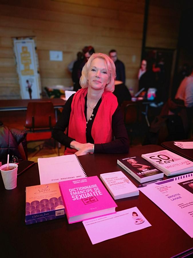 Salon de la littérature érotique 2019 Brigitte Lahaie