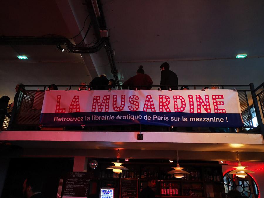Salon de la littérature érotique 2019 librairie La Musardine