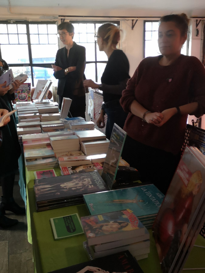 Salon de la littérature érotique 2019 stand La Musardine
