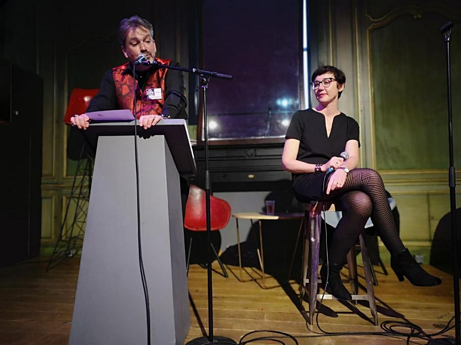 Salon de la littérature érotique 2019 debat Les polissons Anne Hautecoeur