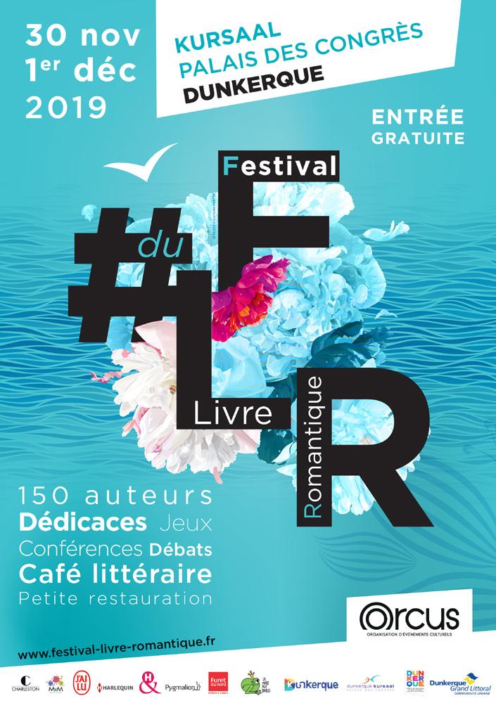 Festival du livre romantique FLR Dunkerque