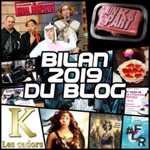 Bilan 2019 du blog littéraire Un K à part
