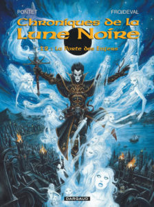 Les Chroniques de la Lune Noire tome 12 La Porte des Enfers Cyril Pontet François Froideval Dargaud