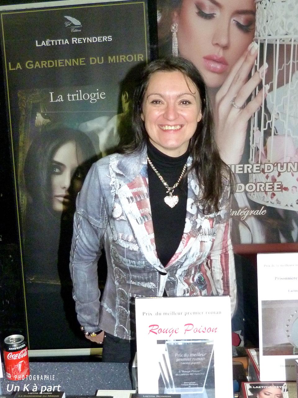 Festival du livre romantique 2019 Laetitia Reynders
