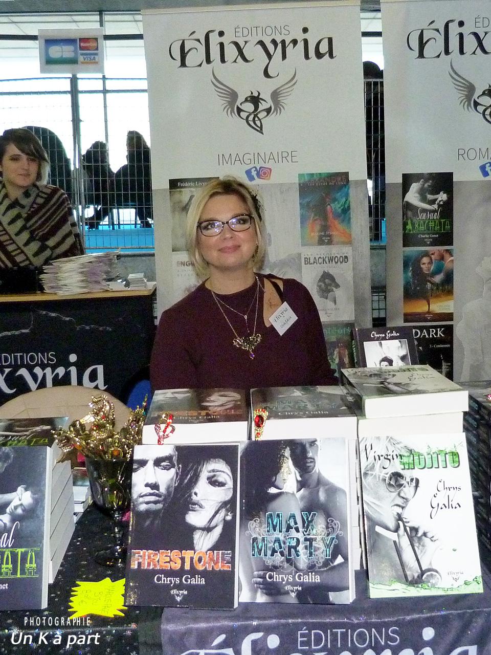 Festival du livre romantique Chrys Gallia