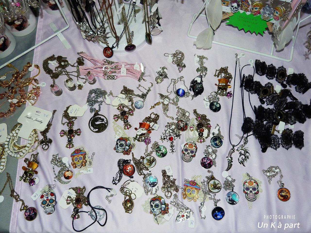 FLR bijoux stand Sharon Kena