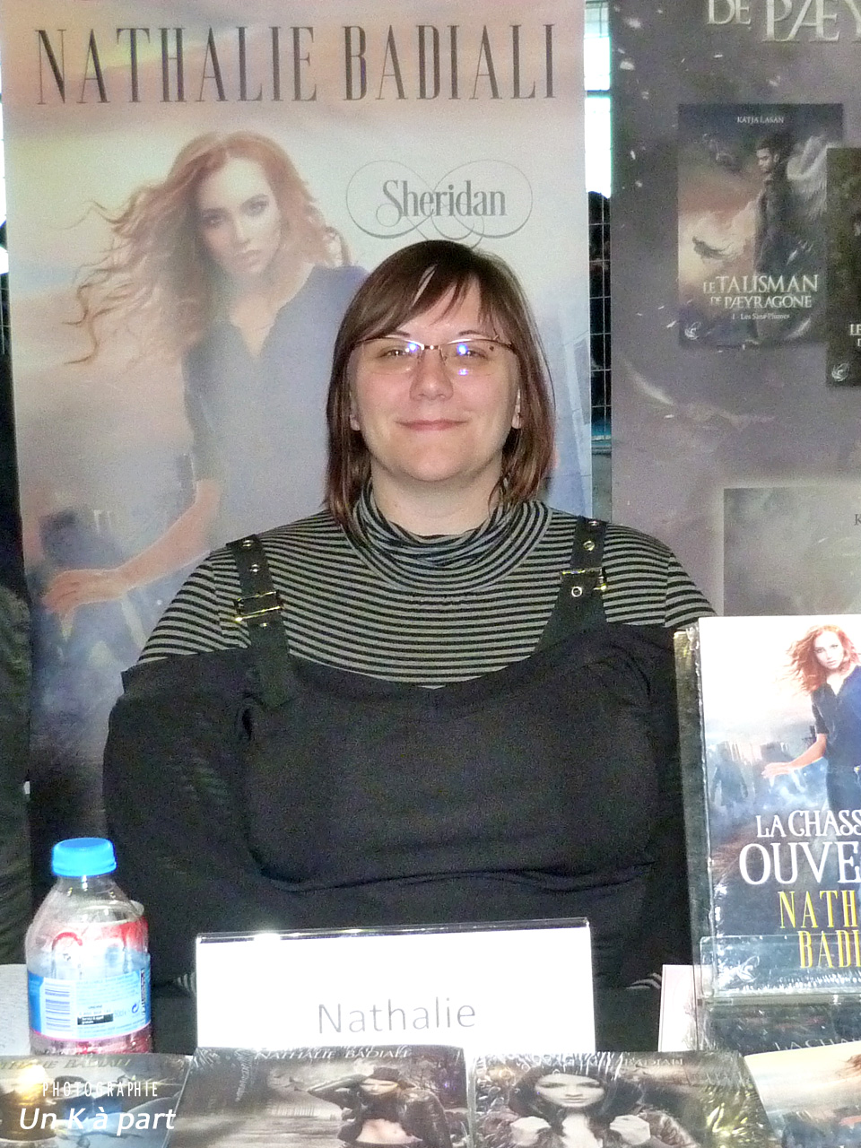 Festival livre romantique Nathalie Badiali