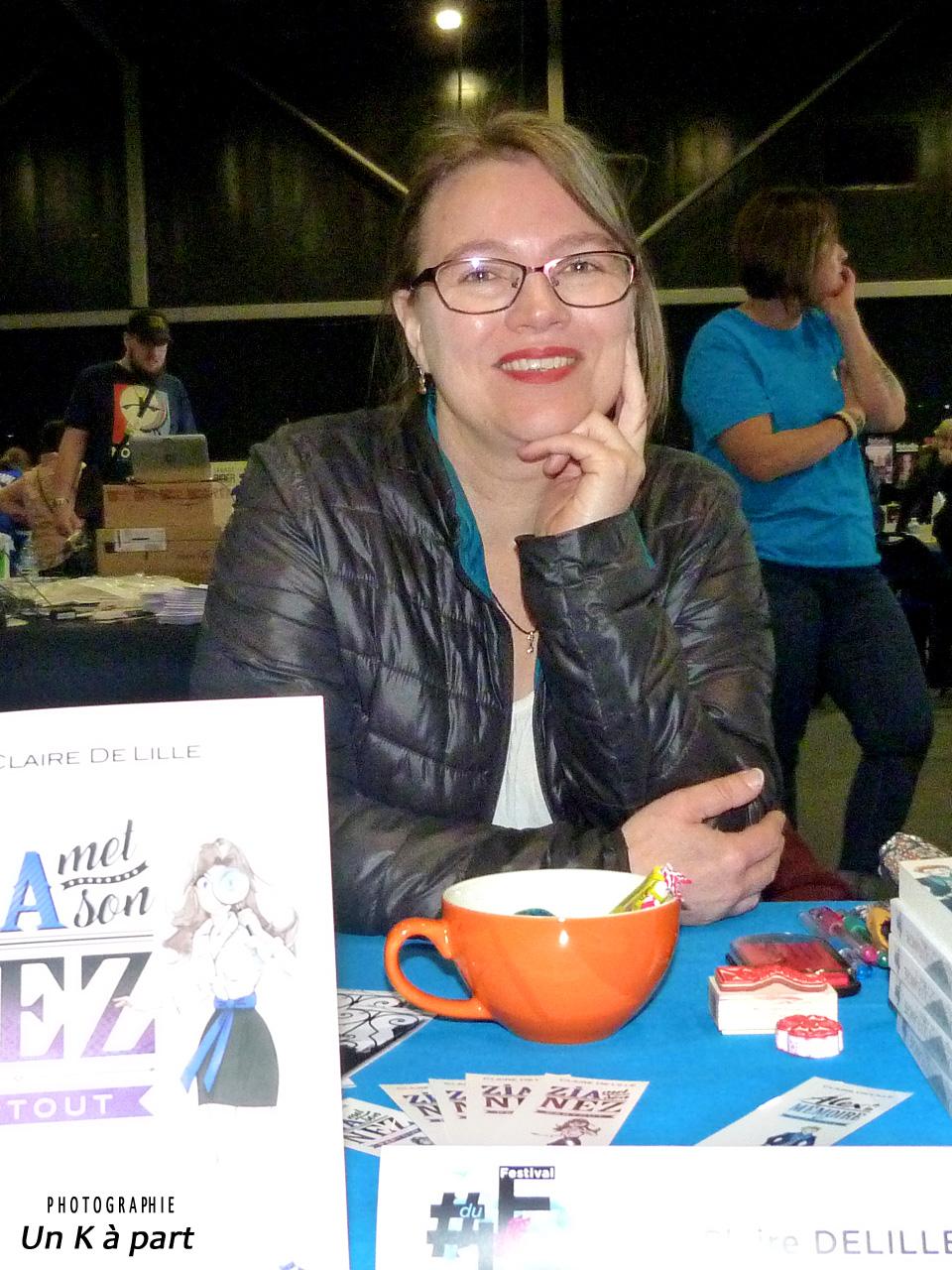 Festival du livre romantique Claire Delille