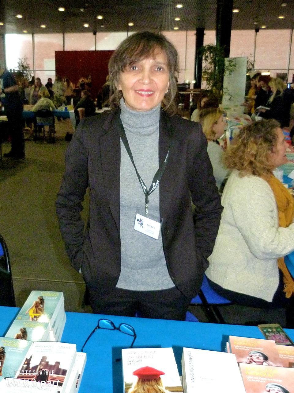 Festival du livre romantique Angélique Barbérat