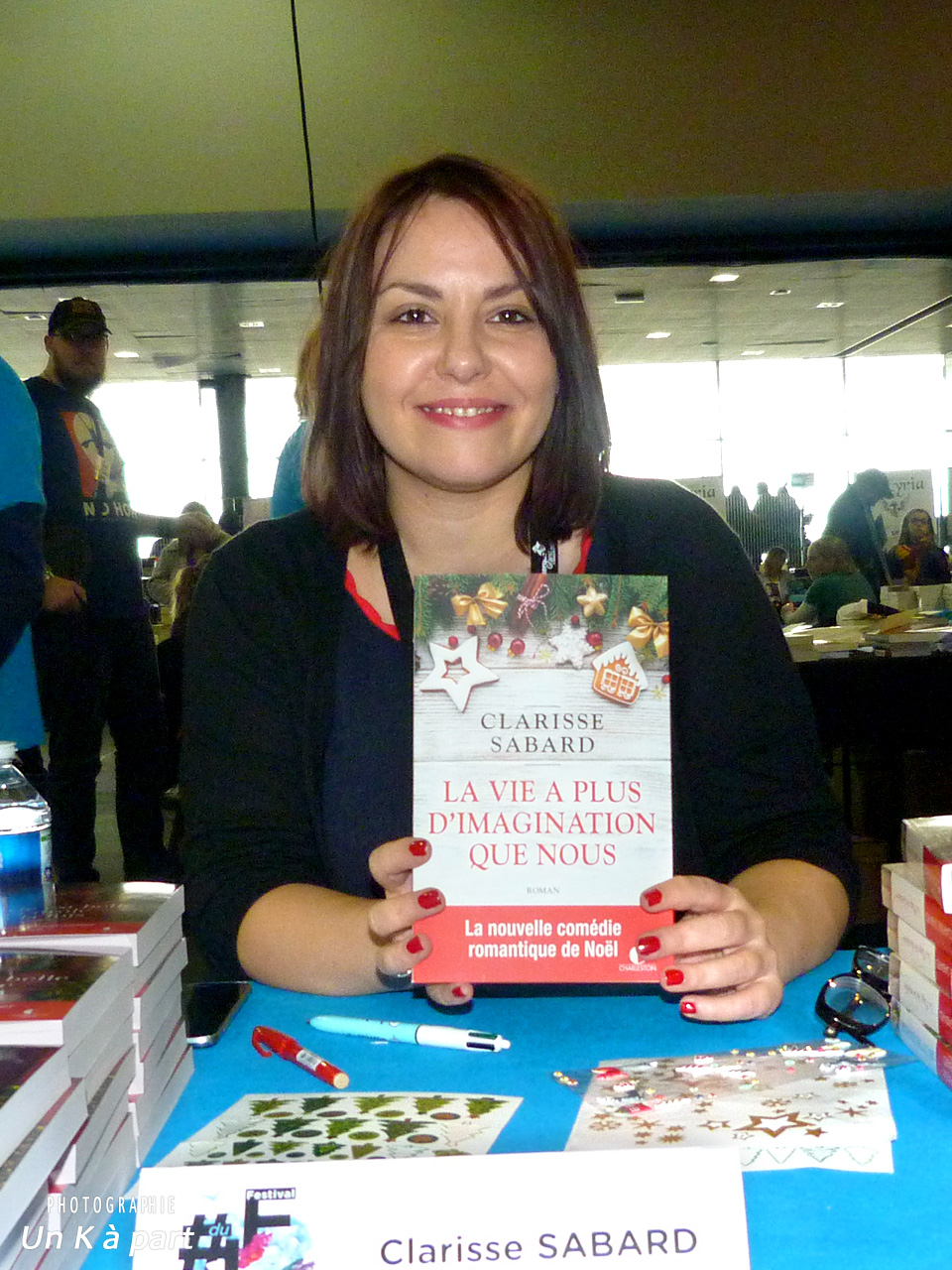 Festival du livre romantique Clarisse Sabard