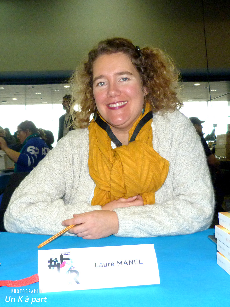 Festival du livre romantique Laure Manel