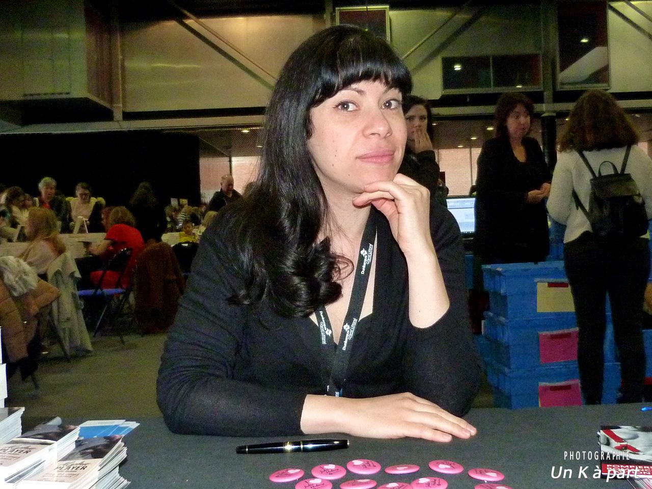 Festival du livre romantique Julie Huleux