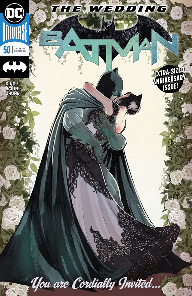 DC Univers Rebirth Batman 50 The Wedding of Batman and Catwoman
