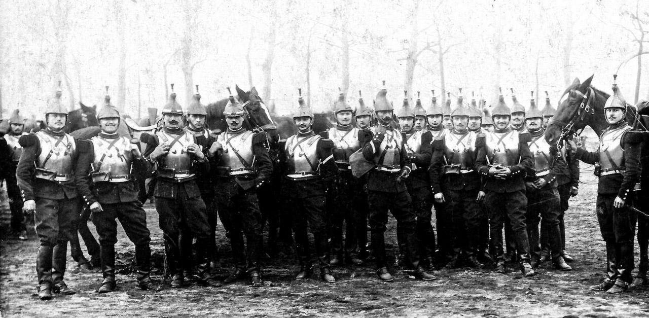 Cuirassiers français 1914 Première Guerre mondiale