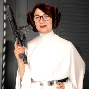 Sophie Jomain princesse Leia Star Wars