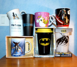 Collection mugs gobelets tasses