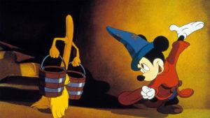 Mickey Fantasia L'apprenti sorcier
