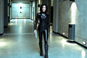 Underworld Selene Kate Beckinsale cuir et latex