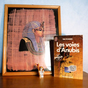 Couverture Les Voies d'Anubis Tim Powers J'ai Lu
