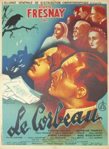 Le Corbeau affiche film Henri Georges Clouzot