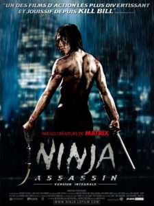 Affiche Ninja Assassin James McTeigue 2009