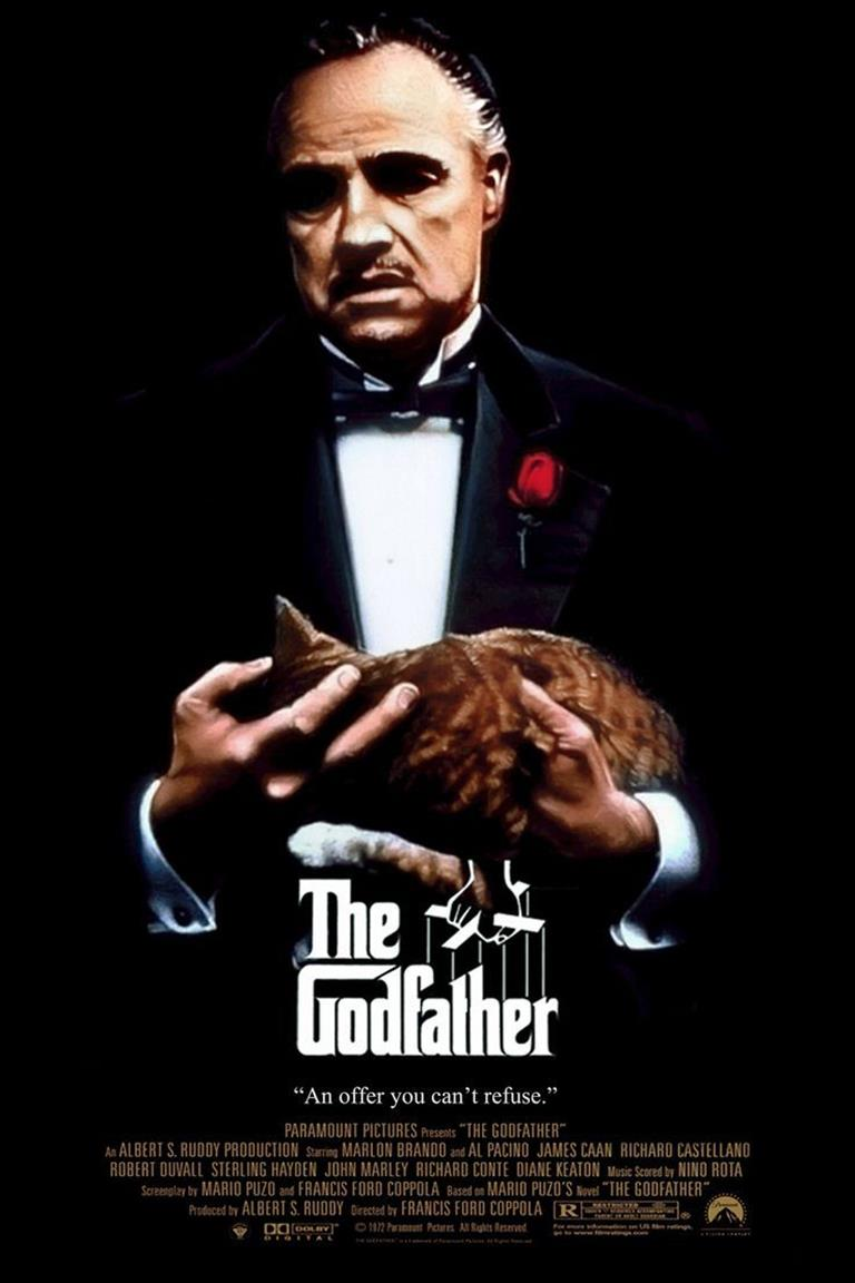 The Godfather affiche Marlon Brando