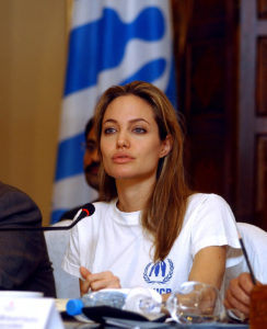 Angelina Jolie UNHCR humanitaire