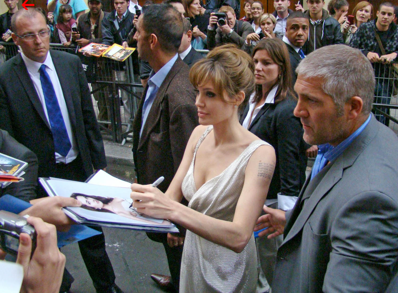 Angelina Jolie avant-première Salt Grand Rex Paris 2010