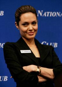 Angelina Jolie HCR Ambassadrice de bonne volonté