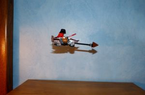 Lego Star Wars speeder bike Darth Vader Christmas