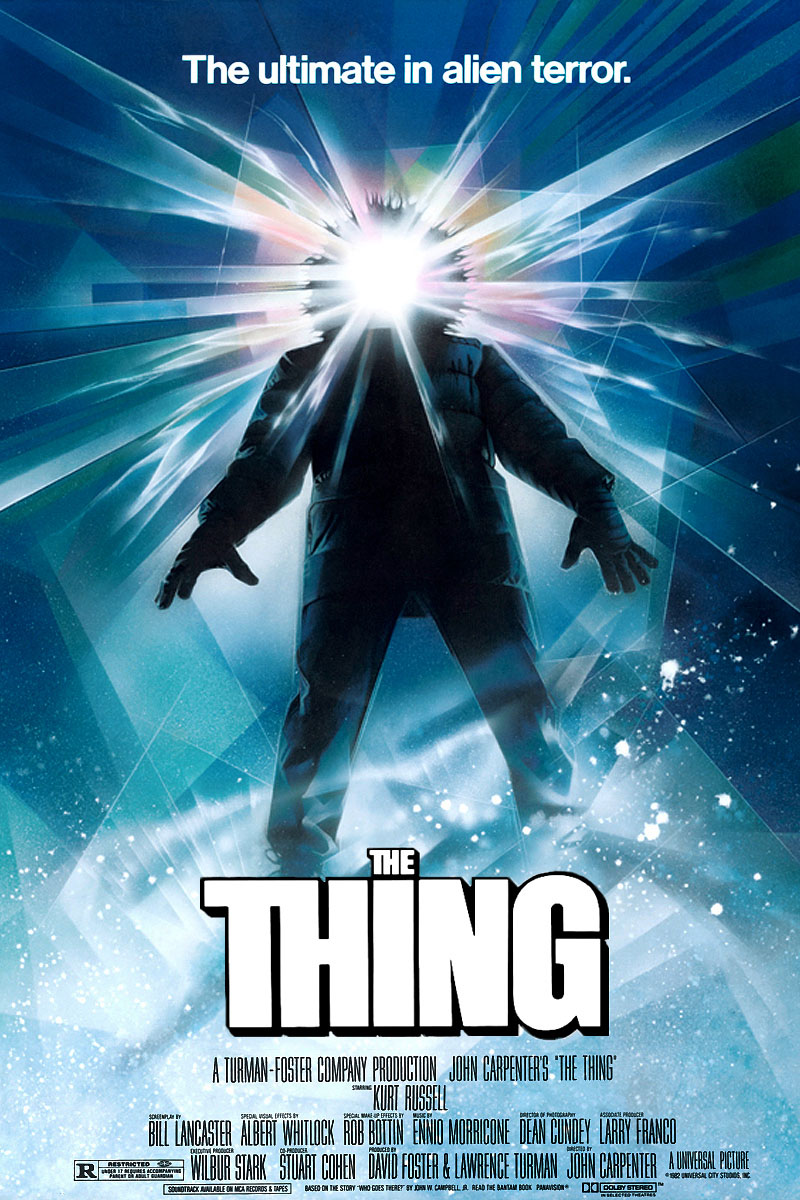 The Thing John Carpenter affiche