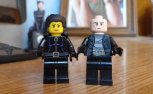 Fred Angélique Un K à part Lego