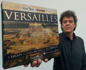 Hachette Makma Versailles escape game Patrick Mc Spare