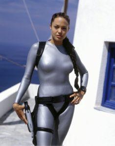 Angelina Jolie Lara Croft tenue de plongée