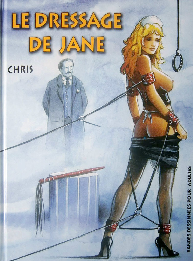 Couverture Le dressage de Jane Chris