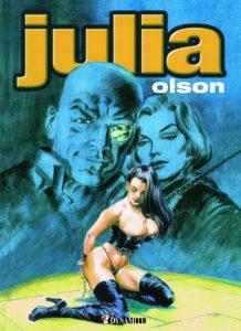 Couverture Julia Olson BD Dynamite