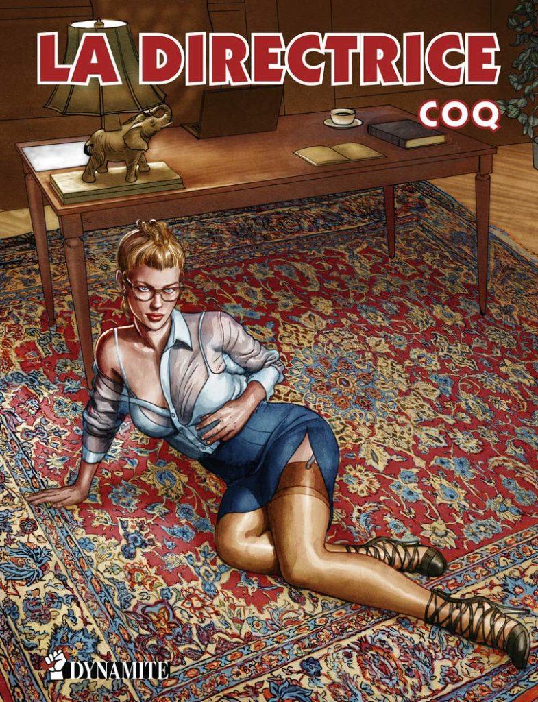 Les aventures de Karine 3 La Directrice Coq