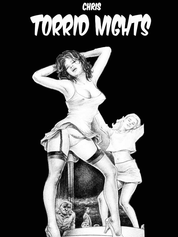Couverture Torrid nights Nuits torrides Chris
