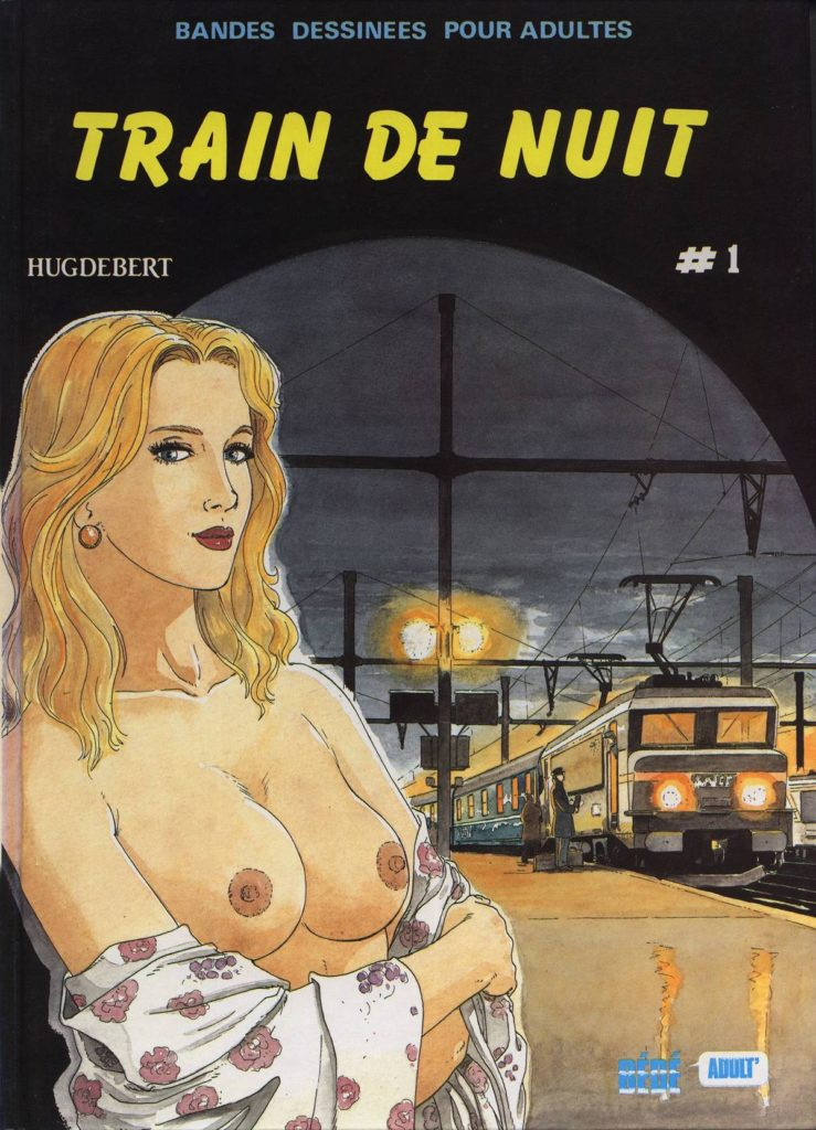 Couverture Train de nuit Hugdebert tome 1