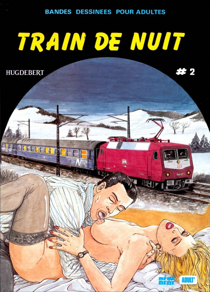 Couverture Train de nuit Hugdebert tome 2