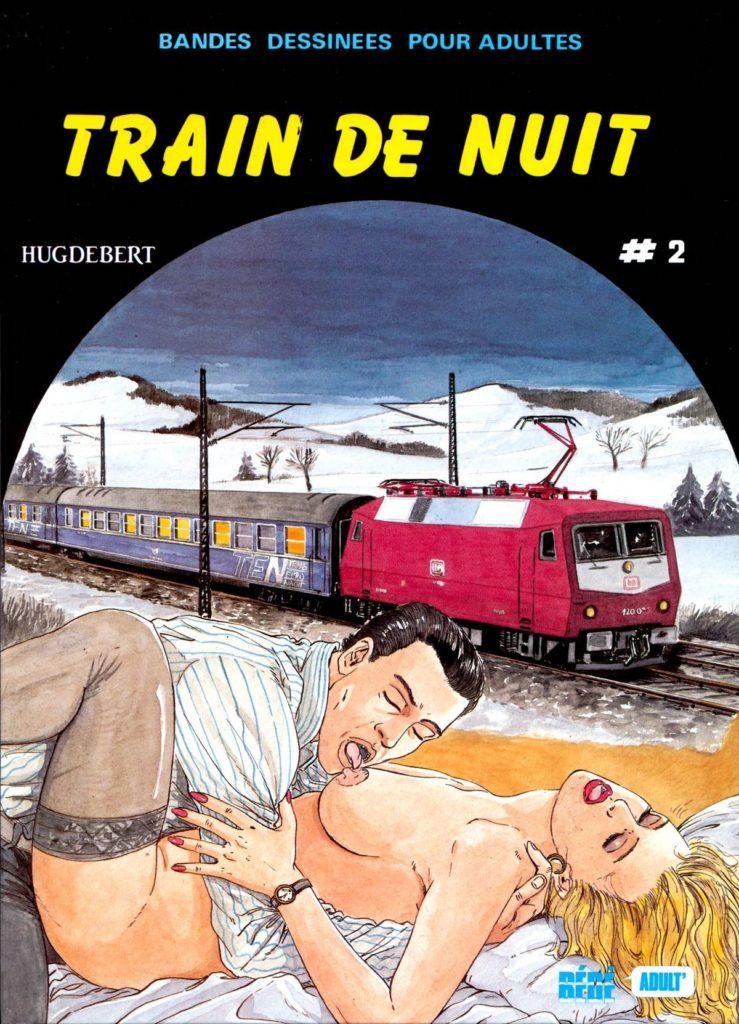 Couverture Train de nuit Hugdebert tome 2