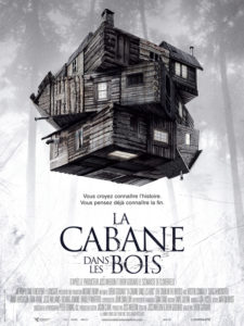 Affiche film La cabane dans les bois Drew Goddard