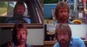 Chuck Norris Invasion USA monolithique