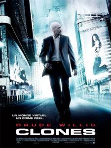 Affiche film Clones Bruce Willis