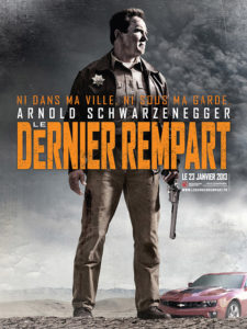Affiche film Le dernier rempart Arnold Schwarzenegger